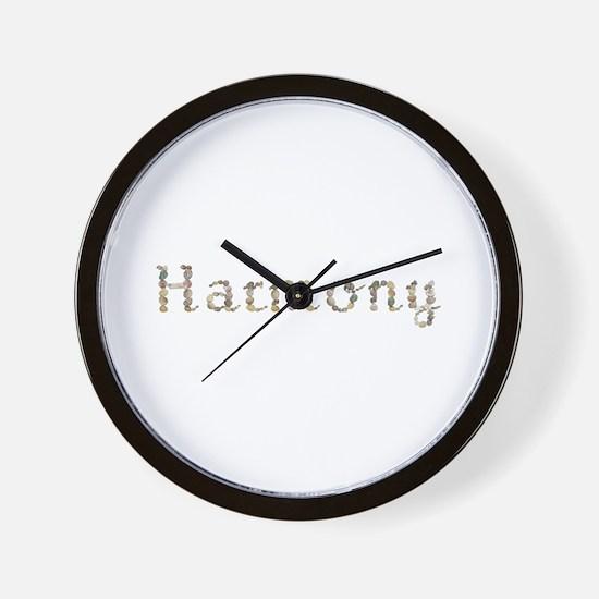 Harmony Seashells Wall Clock
