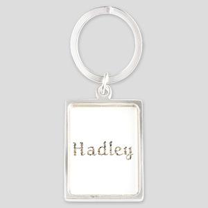 Hadley Seashells Portrait Keychain