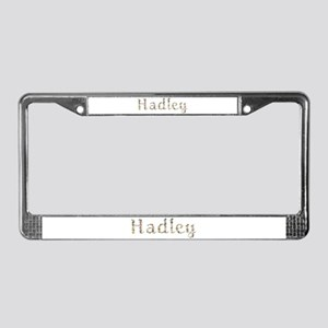 Hadley Seashells License Plate Frame