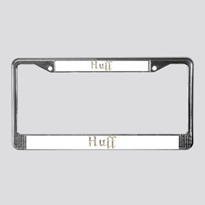 Huff Seashells License Plate Frame