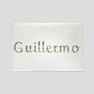 Guillermo Seashells Rectangle Magnet