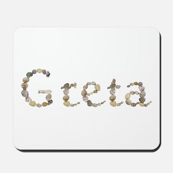 Greta Seashells Mousepad