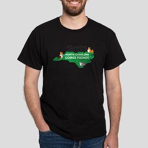 2017 NC Corgi Picnic logo T-Shirt