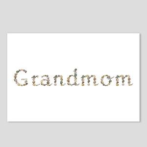 Grandmom Seashells Postcards 8 Pack