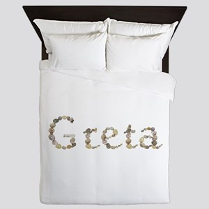 Greta Seashells Queen Duvet