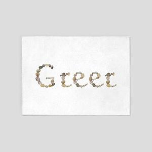 Greer Seashells 5'x7' Area Rug