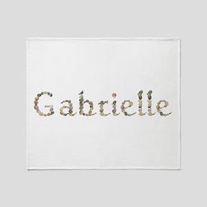 Gabrielle Seashells Throw Blanket