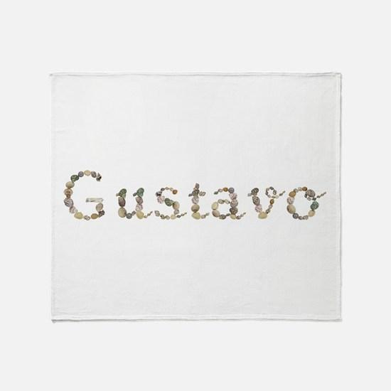 Gustavo Seashells Throw Blanket