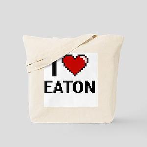 I Love Eaton Tote Bag
