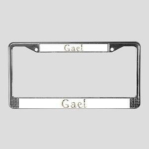 Gael Seashells License Plate Frame