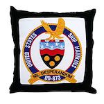 USS HAWKINS Throw Pillow
