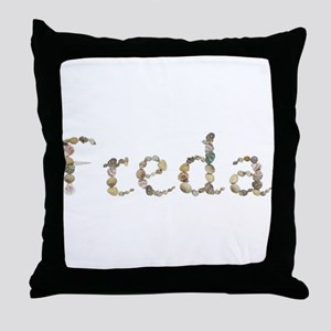 Freda Seashells Throw Pillow