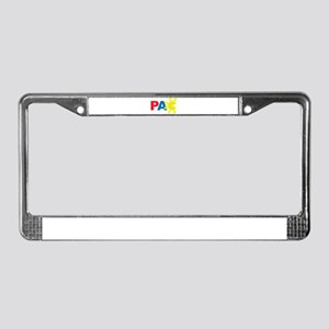 I'm Gonna PAC You Up License Plate Frame