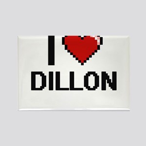 I Love Dillon Magnets