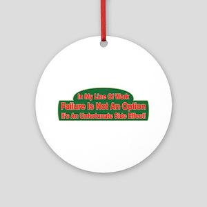 Failure Ornament (Round)