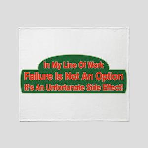 Failure Throw Blanket