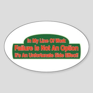 Failure Sticker