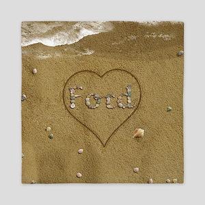 Ford Beach Love Queen Duvet
