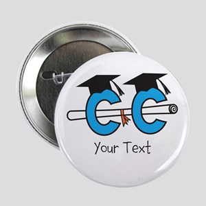 "Customize Cross Country Grad 2.25"" Button"