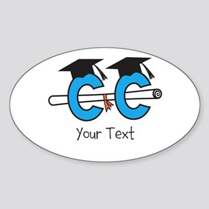 Customize Cross Country Grad Sticker