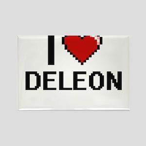 I Love Deleon Magnets