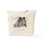 Collie (Rough) Tote Bag