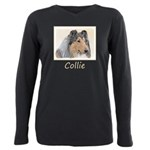 Collie (Rough) Plus Size Long Sleeve Tee