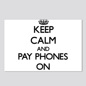 Keep Calm and Pay Phones Postcards (Package of 8)