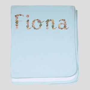 Fiona Seashells baby blanket