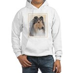Collie (Rough) Hooded Sweatshirt