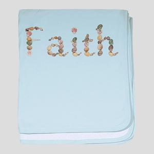 Faith baby blanket