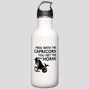 Capricorn Horns Stainless Water Bottle 1.0L