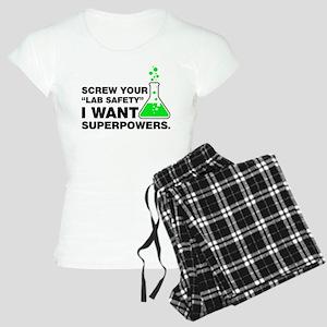 Chemist Superpowers Humor Pajamas