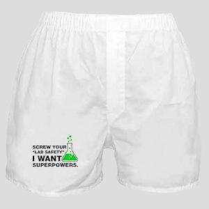 Chemist Superpowers Humor Boxer Shorts