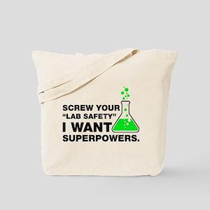 Chemist Superpowers Humor Tote Bag