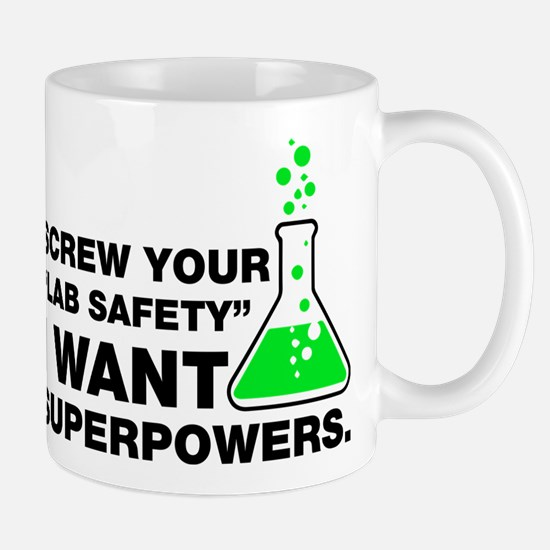 Chemist Superpowers Humor Mugs