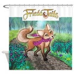 Frieda Tails Shower Curtain