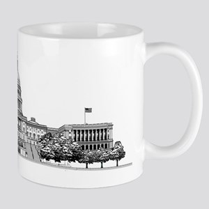 US Capitol Building Mug