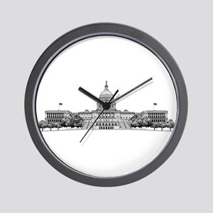 US Capitol Building Wall Clock