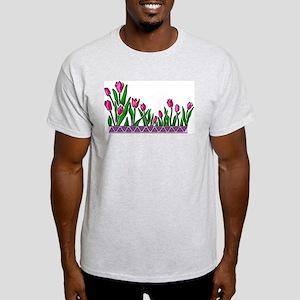 Pink Tulips Light T-Shirt