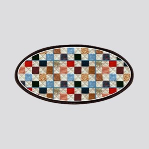 Colorful quilt pattern Patch