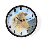 Collie (Rough) Wall Clock