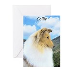Collie (Rough) Greeting Cards (Pk of 10)