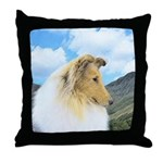 Collie (Rough) Throw Pillow