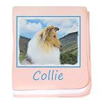 Collie (Rough) baby blanket