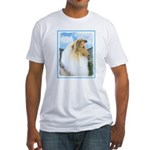 Collie (Rough) Fitted T-Shirt