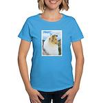 Collie (Rough) Women's Dark T-Shirt