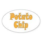 Potato Chip Sticker (Oval)