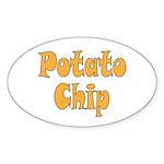 Potato Chip Sticker (Oval 50 pk)