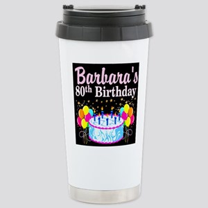 FANTASTIC 80TH Stainless Steel Travel Mug